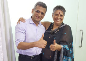 Mrs Shammi Reviews Dr Niraj Vora