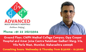 Dr. Niraj Vora at Advanced Multispecialty Hospitals in Vile Parle (West), Mumbai