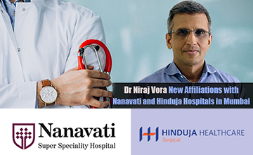 Mumbai's Top Orthopaedic & Joint Replacement Surgeon -Dr. Niraj Vora now at Nanavati and Hinduja Hospitals in Mumbai